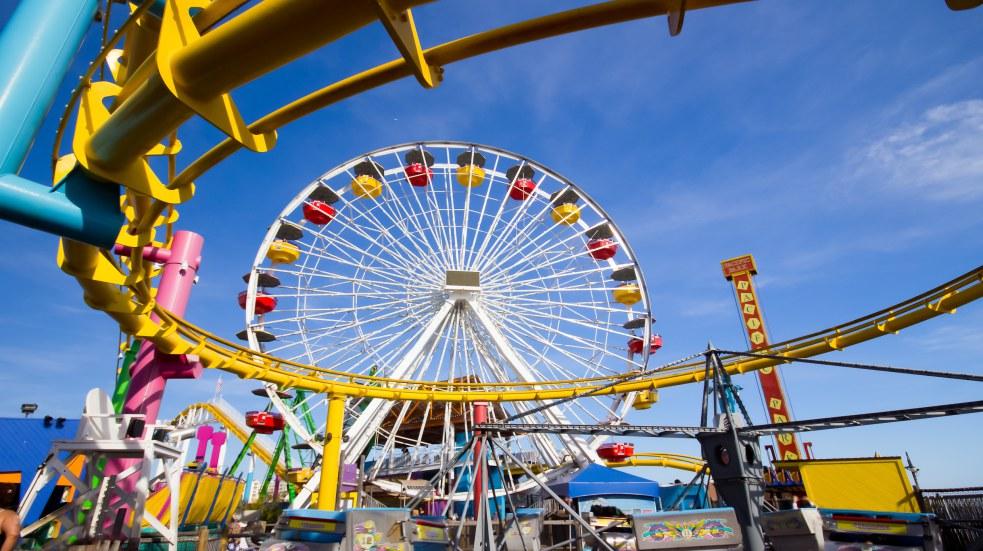Zábavní parky v USA