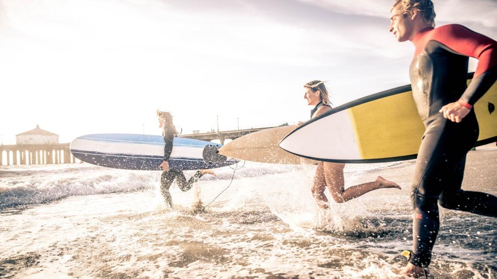 Vodní sporty v USA