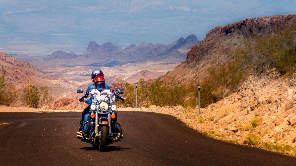 Na motorce po USA