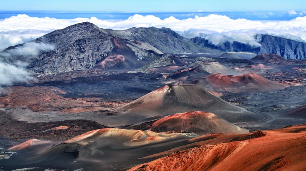 Národní park Sopky Havaje