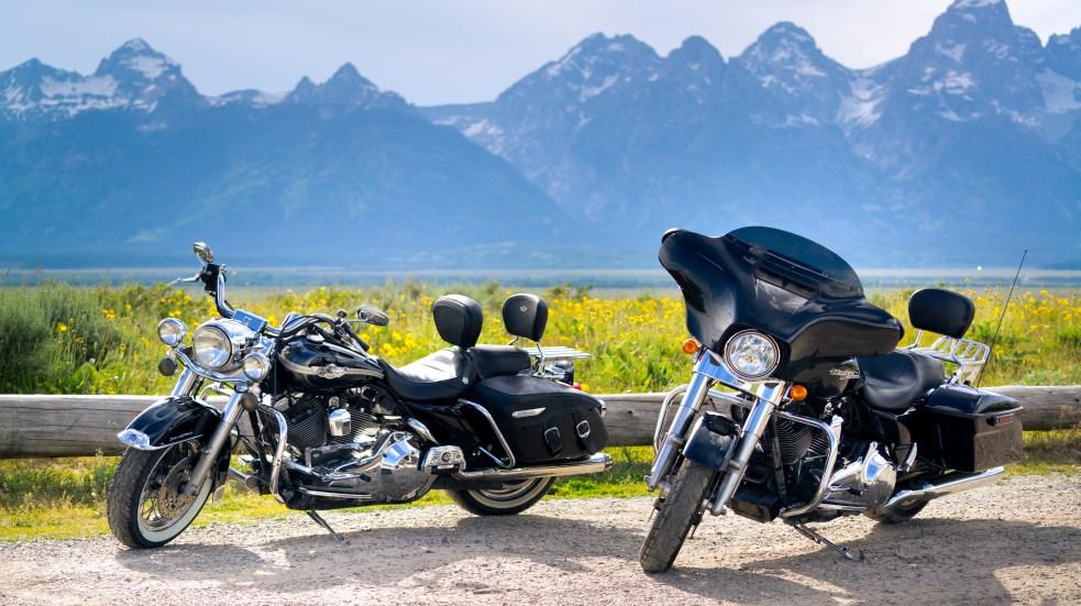 Pronájem motocyklů