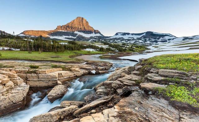 Velký okruh severozápadem USA a západní Kanadou
