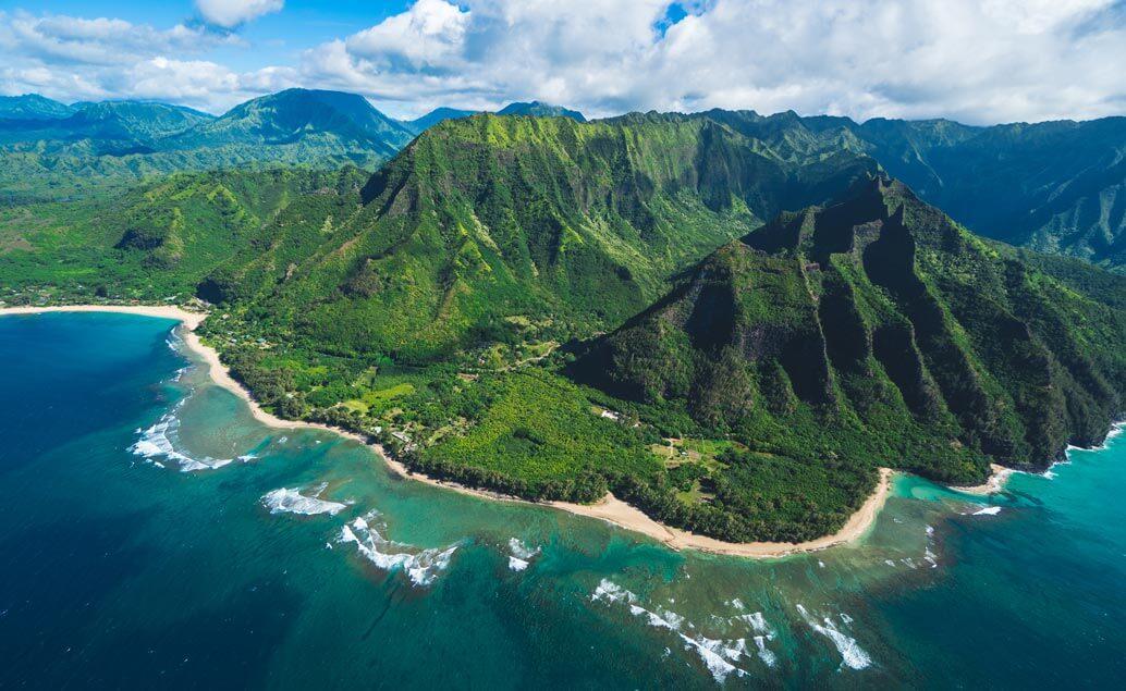 Japonsko a Havajské vulkány